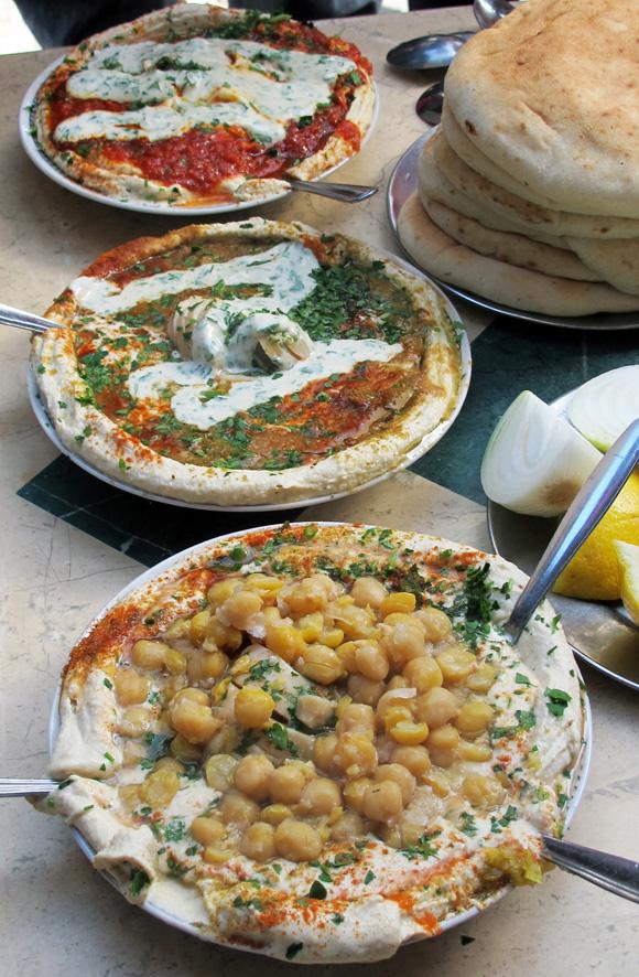 Tel Aviv Markets hummus