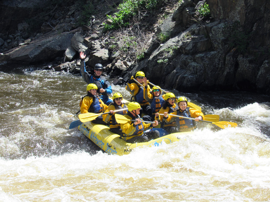 White Water Adventure - A tick on my bucket list