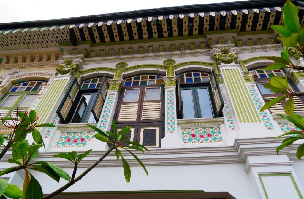 Beautiful Peranakan home in Singapore-Dining capital of Asia