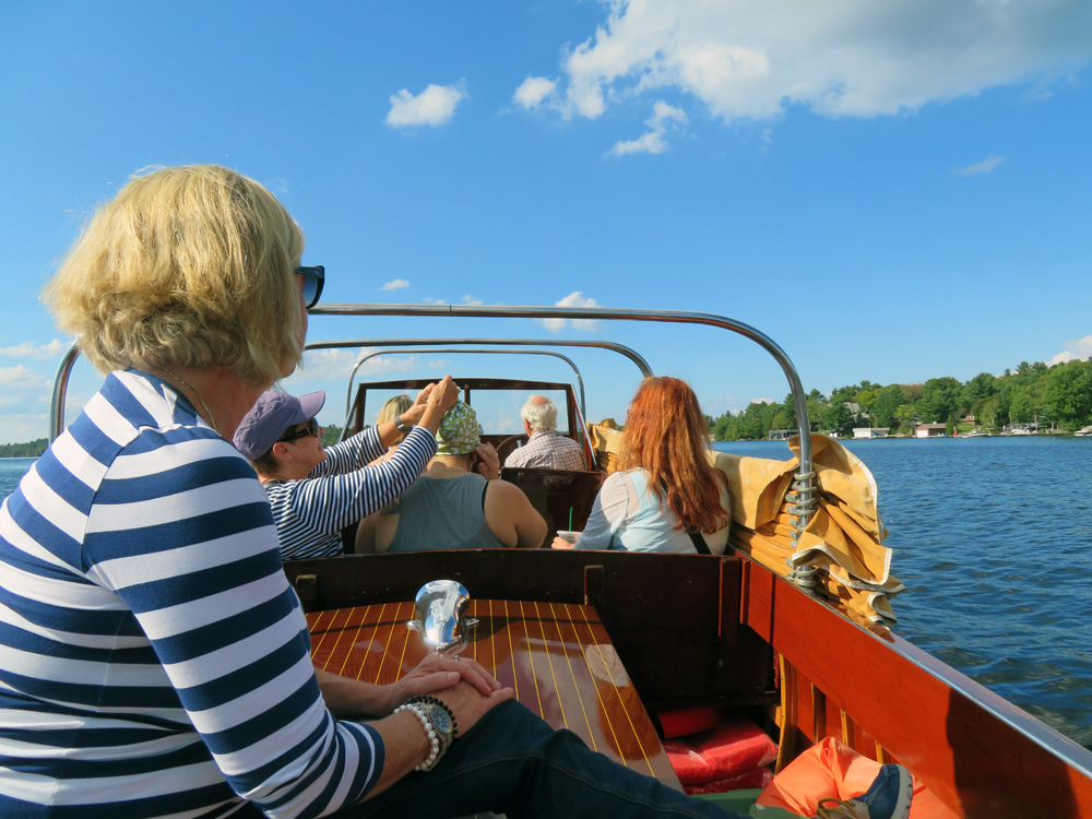 Finding Our Muskoka Soul -water taxi home
