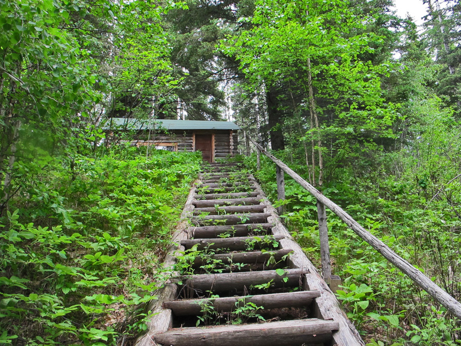 Anahareo's cabin In search of a Legend - Grey Owl