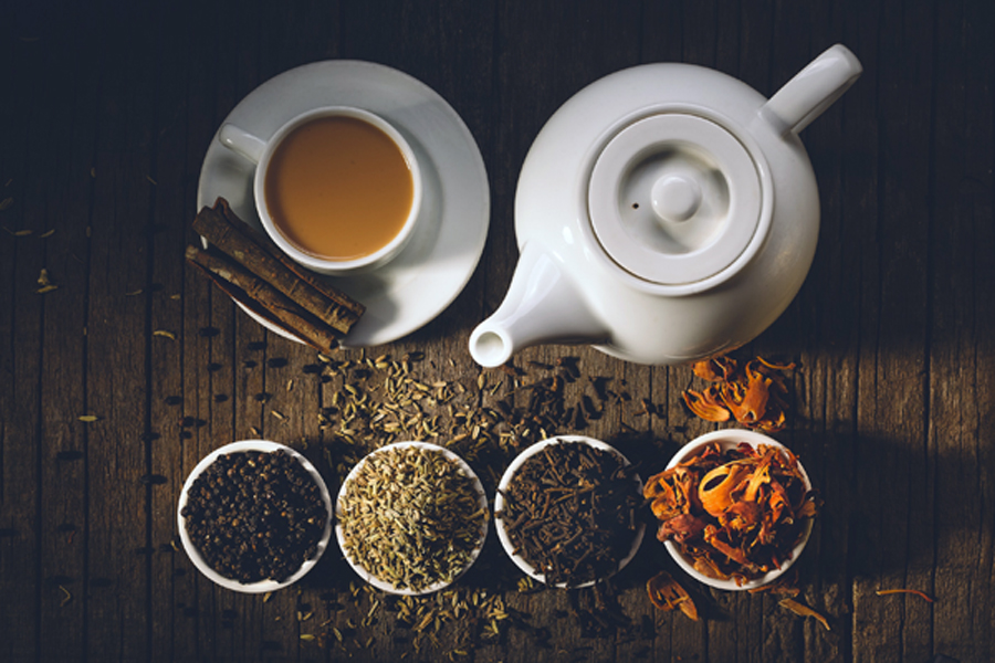 spices for masala chai - Feeling tired, sad, upset, cold, in need of a lift? Have a cuppa! In much of the world the answer to all these is a cup of tea – the universal panacea for all ills.