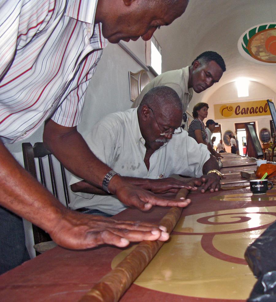 Castellar rolling giant cigar- The Perfect Cigar